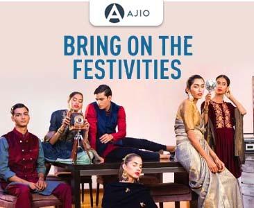 Ajio Dazzling Diwali Sale  Get 50%-90% OFF