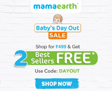 Mamaearth Baby's Day Out Sale
