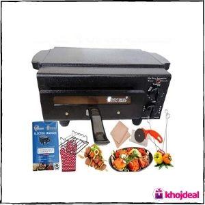 HOT BERG Electric Tandoor & Barbeque Grill Combo