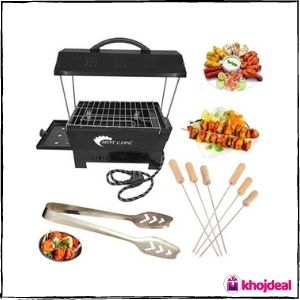 Hot Life Electric and Non-Electric Charcoal Barbeque Grill & Tandoor
