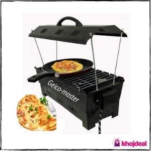 Geico-Master Electric and Charcoal BBQ Grill & Tandoor
