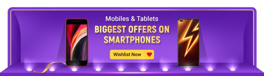 Flipkart Big Billion Day 2020 Offers On Mobiles