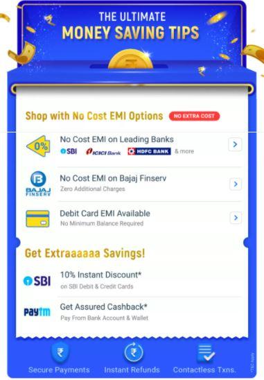 Flipkart Big Billion Day 2020 Bank Offers