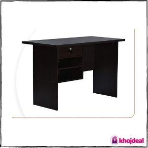 Deckup Giona Engineered Wood Study Desk (Dark Wenge)