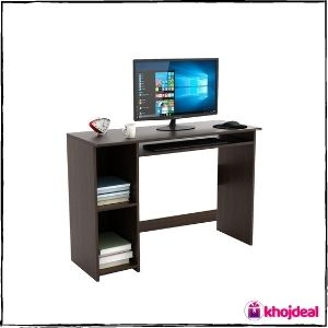 BLUEWUD Mallium Engineered Wood Study Table (Wenge)