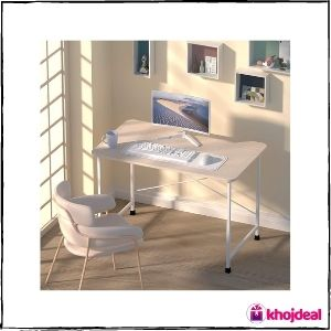 CATIVE Engineered Wood Study Desk (Natural)