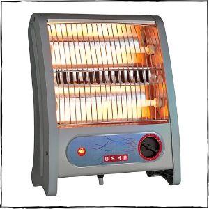 Usha Quartz (3002) 800-Watt Room Heater