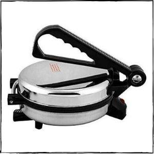 Bajaj Vacco 900W Go-Ezzee Non-Stick Chapati Maker C-02 (Silver)