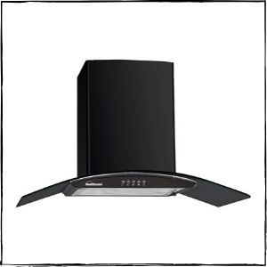 Sunflame Curved Glass Kitchen Chimney
