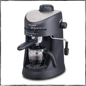 Morphy Richards New Europa 800-Watt Espresso and Cappuccino Coffee Maker