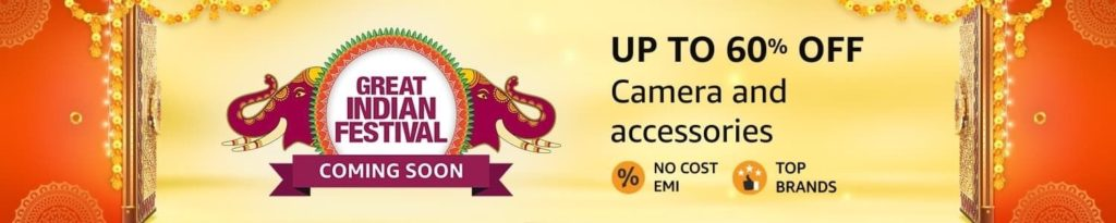Amazon Great Indian Sale 2020 Camera Offers