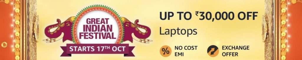 Amazon Great Indian Sale 2020 Laptop Offers