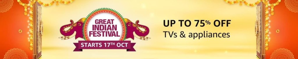 Amazon Great Indian Sale 2020 TV Offers