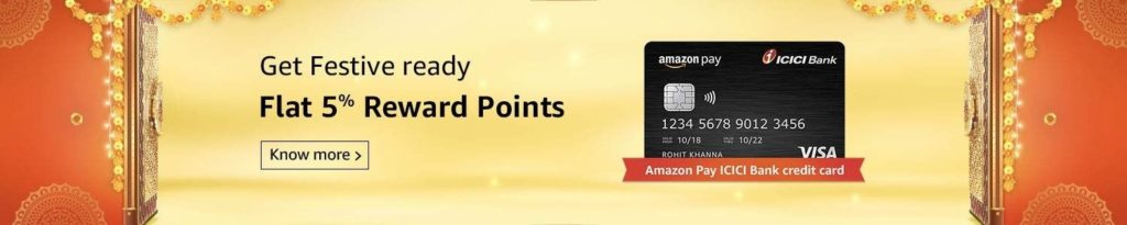 Amazon Great Indian Festival Card Offers
