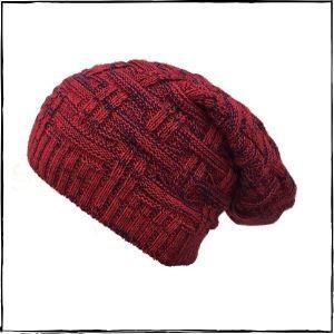 Gajraj Knitted Beanie Cap (Red)