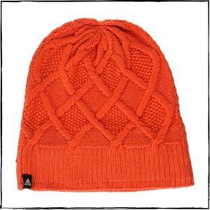 Adidas Polyester Outdoor Beanie (Orange)