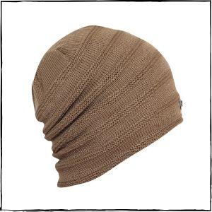 FabSeasons Acrylic Woolen Slouchy Beanie (Brown)
