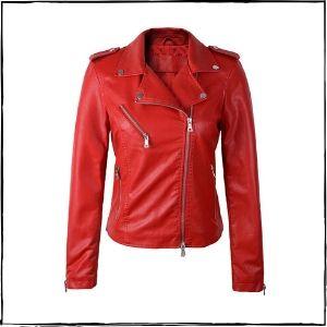 HugMe Fashion Biker Leather Jacket