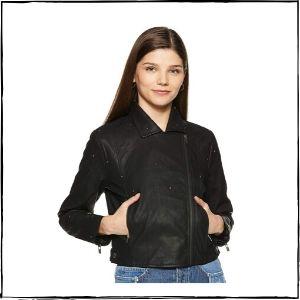 Pepe Jeans PU Leather Jacket