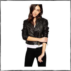 Jackmia Leather Leather Jacket