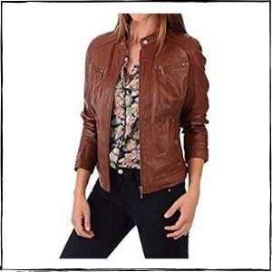 NOORA Leather Jacket