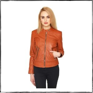 JUSTANNED Classic Leather Jacket