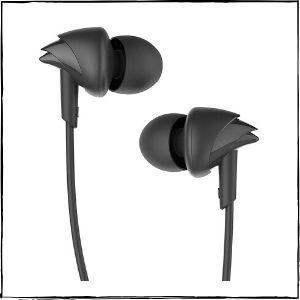 boAt BassHeads 100 in-Ear Headphones (Black)