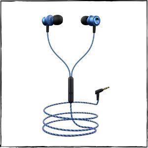 boAt BassHeads 152 Wired Earphones (Blue)
