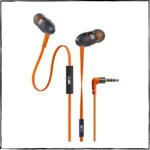 boAt BassHeads 225 in-Ear Super Extra Bass Headphones (Molten Orange)