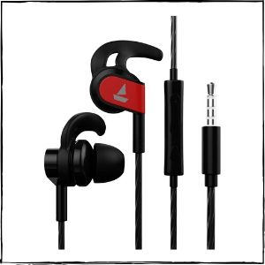 Boat Bassheads 242 Wired Sports Earphones (Active Black)