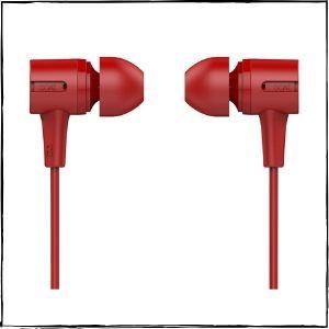 boAt BassHeads 102 Wired Earphones (Fiery Red)