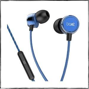 boAt BassHeads 172 Wired Earphones (Blue)