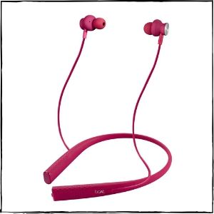 boAt Rockerz 275 Sports Bluetooth Wireless Earphone (Intense Pink)