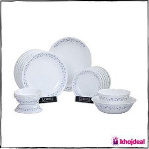 Corelle Lilac Blush Glass Dinner Set
