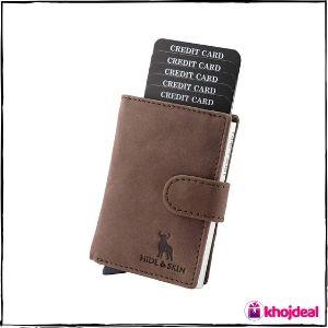 Hide & Skin RFID Card Holder