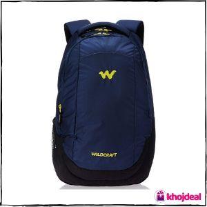 Wildcraft Turnaround Polyester 27 Ltrs Blue Laptop Bag