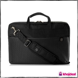HP 4QF94AA 15.6-inch Duotone Laptop Briefcase (Gold)