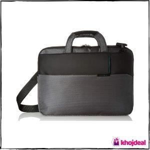 Samsonite Tech-ict 9 Ltrs Grey Laptop Briefcase