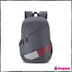Tommy Hilfiger Xylo 30 Ltrs Grey Laptop Backpack