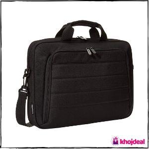 AmazonBasics Laptop and Tablet Case, Black, 15.6 inch