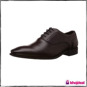 Hush Puppies Leather Shoes : Men's Fred Oxford