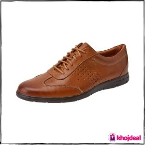 Clarks Leather Shoes : Men's Vennor Vibe