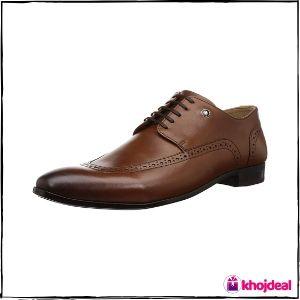 Louis Philippe Leather Shoes : Men's LPSCCRGFL00515_Tan
