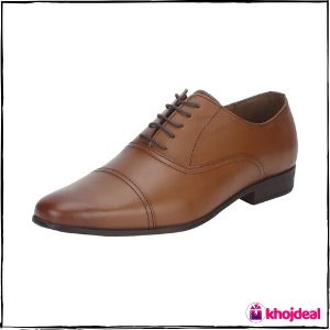 Red Tape Men's Formal Shoes (Tan)