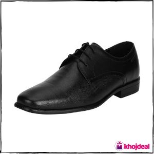 Red Tape Men's Formal Shoes (Black)