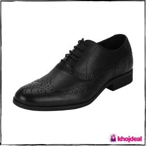 Red Tape Men's Lace Up Formal Shoes (Black)