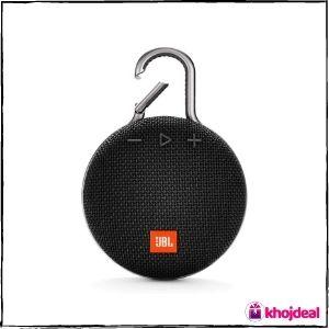 JBL Clip 3 (JBLCLIP3BLK) Wireless Bluetooth Speaker