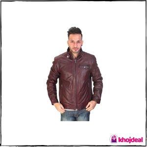 Bareskin Oxblood 'Moto' Leather Jacket