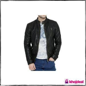 Bareskin Black 'Moto' Leather Jacket