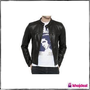 Bareskin Dark Brown 'Moto' Leather Jacket